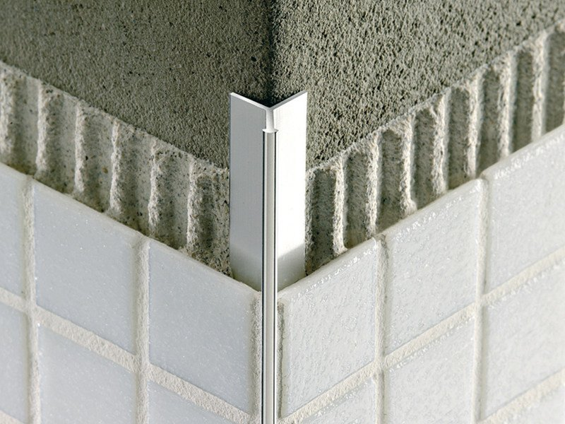 Invisible aluminium profile for mosaic MOSAICTEC RJF - PROFILITEC