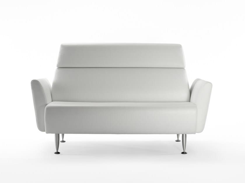 Divano in tessuto sintetico a 2 posti dafne divano a 2 posti rossin - Divano detrazione 50 ...