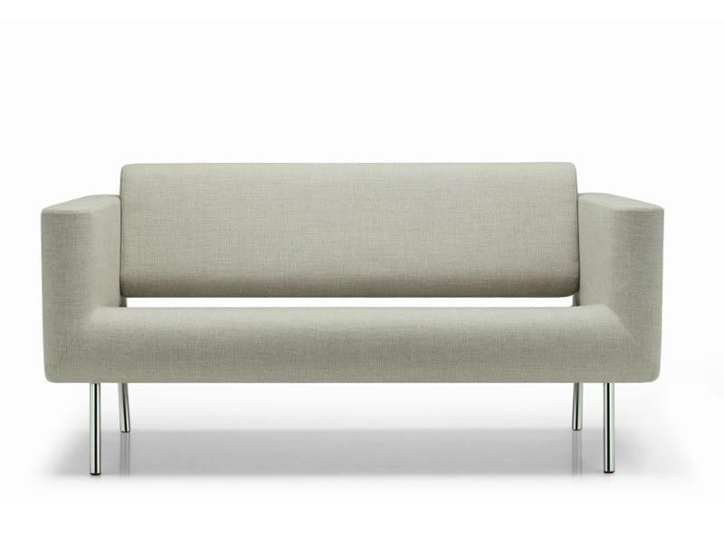 2 seater fabric sofa ORBIS | 2 seater sofa - ROSSIN