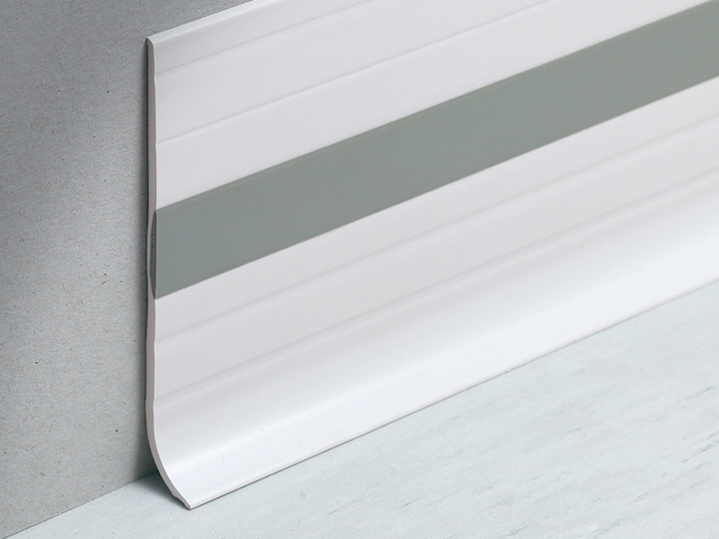 Co-ordinating skirting dual-coloured design Bicolor Design WALLPROTECTION WB - PROFILITEC