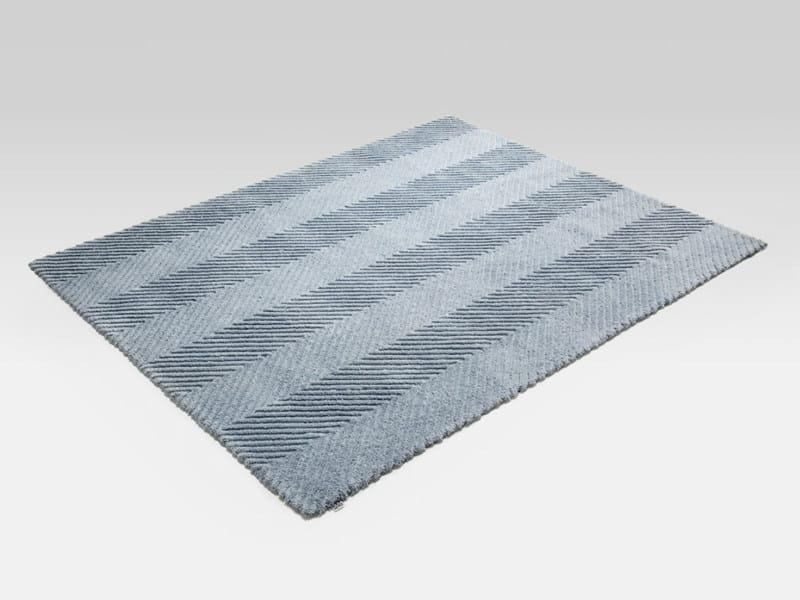 Motiv uni rechteckiger teppich aus wolle lisca by rolf - Rolf benz teppich ...