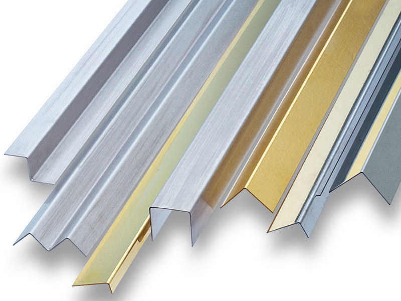 Steel, brass and aluminium custom designed profiles PROFILI A DISEGNO - PROFILITEC