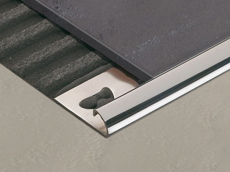 Profile trim for ceramic tiled floors ROUNDJOLLY RJ - PROFILITEC