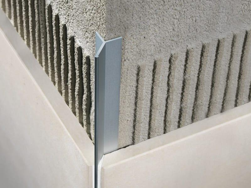 Profile trim for mitred ceramic tile coverings FILOJOLLY RJF - PROFILITEC