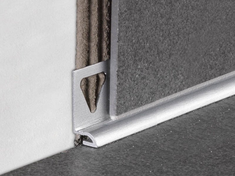 Profile for ultra thin tiles skirting BT | Skirting board by PROFILITEC