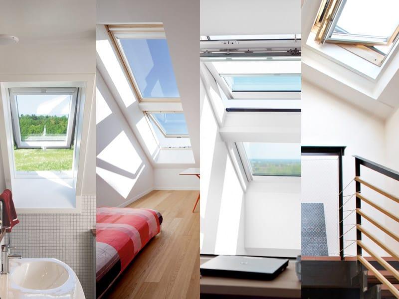 Finestra da tetto velux elevata prestazione termica by velux for Rivenditori velux roma