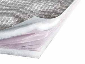 Aluminium thermal insulation felt TRISO-SUPER 9 max - ACTIS