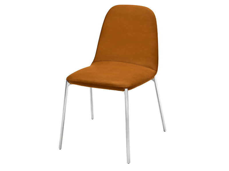 Upholstered chair with removable cover ELLA - Zanotta