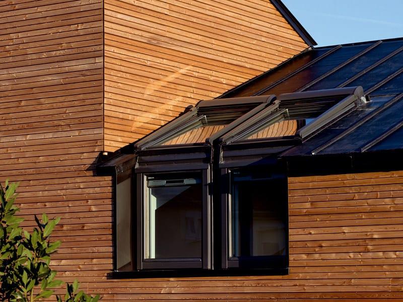Finestra da tetto velux elemento verticale vfb 73 velux for Finestra scorrevole verticale