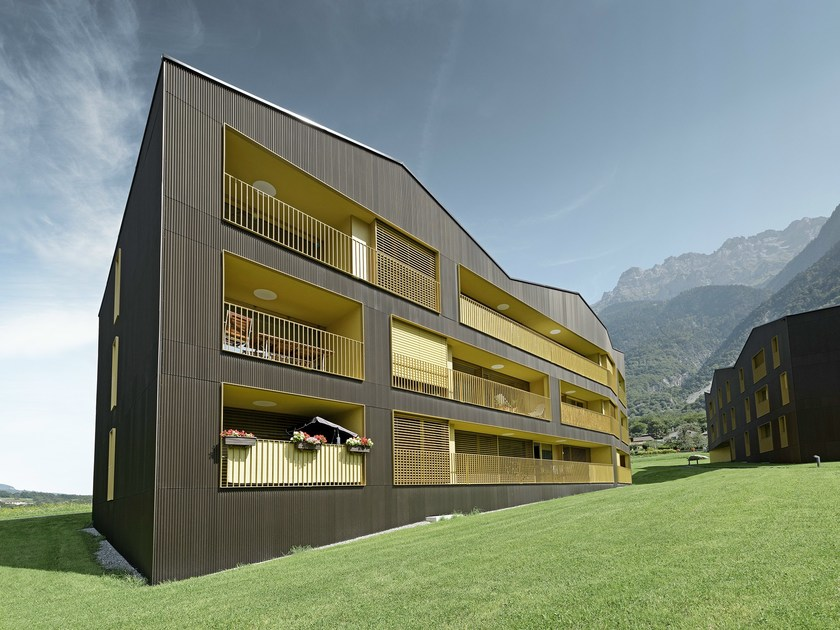 Aluminum profiles for ventilated facades PROFILE - PREFA ITALIA