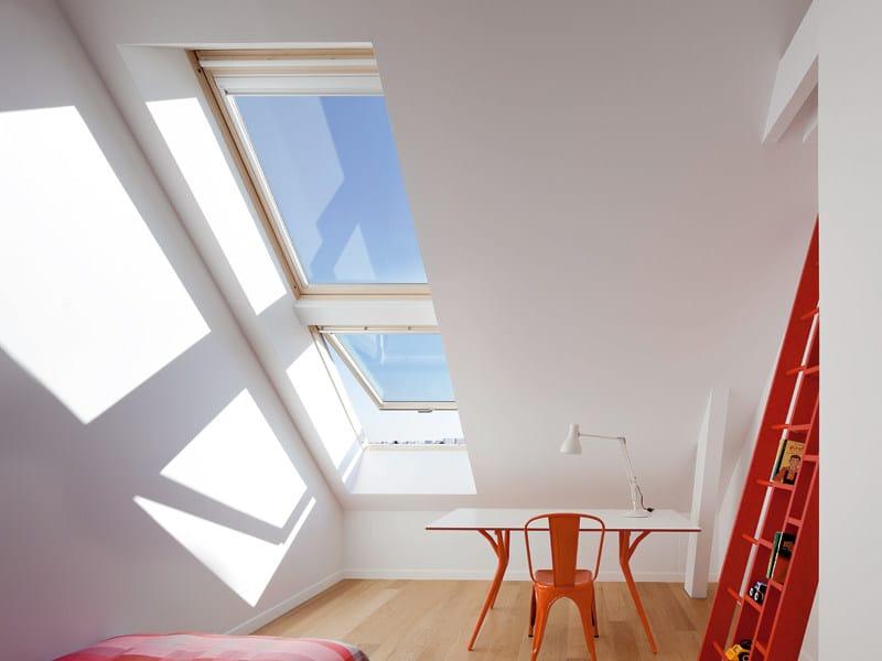 Finestra da tetto velux isolamento termico gpl 65 serie for Finestre velux elettriche prezzi