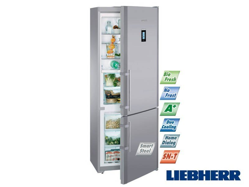 combi no frost refrigerator class a liebherr cbnes 5156 by bsd. Black Bedroom Furniture Sets. Home Design Ideas