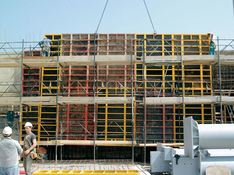 Formwork and formwork system for concrete MODULO 3000-S120 - Faresin Building