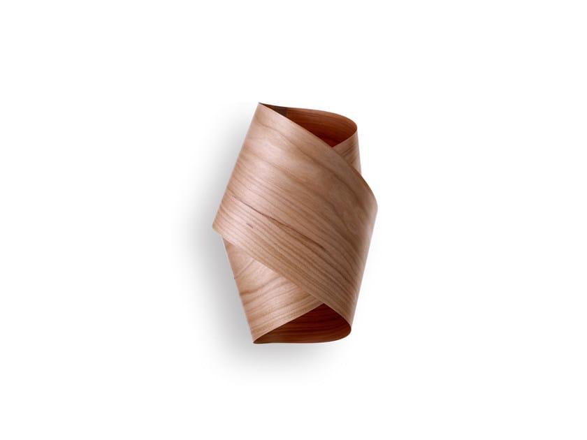 Contemporary style handmade wood veneer wall lamp ORBIT A - LZF