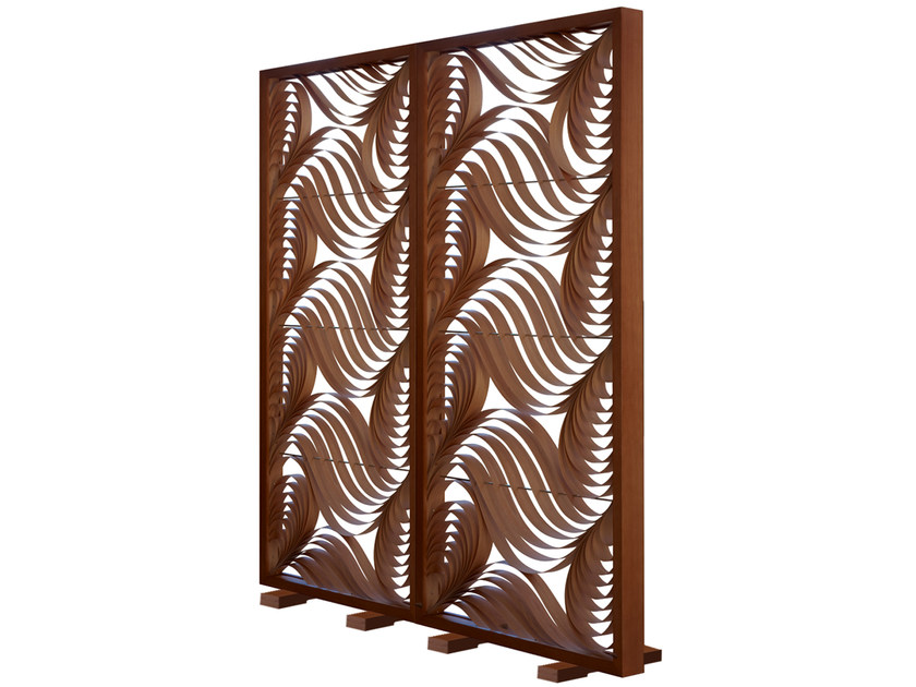 Wooden screen PAISLEY by LZF