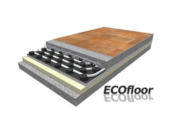 EPS Radiant floor panel ECOFLOOR - Rossato Group