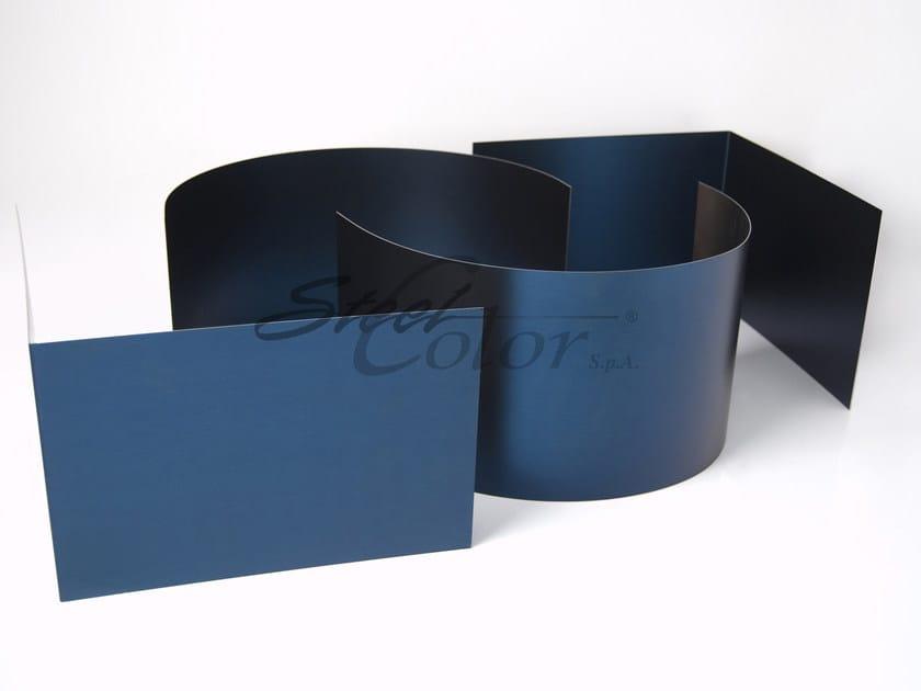 Sheet metal Bead Blasted steel sheet - STEEL COLOR