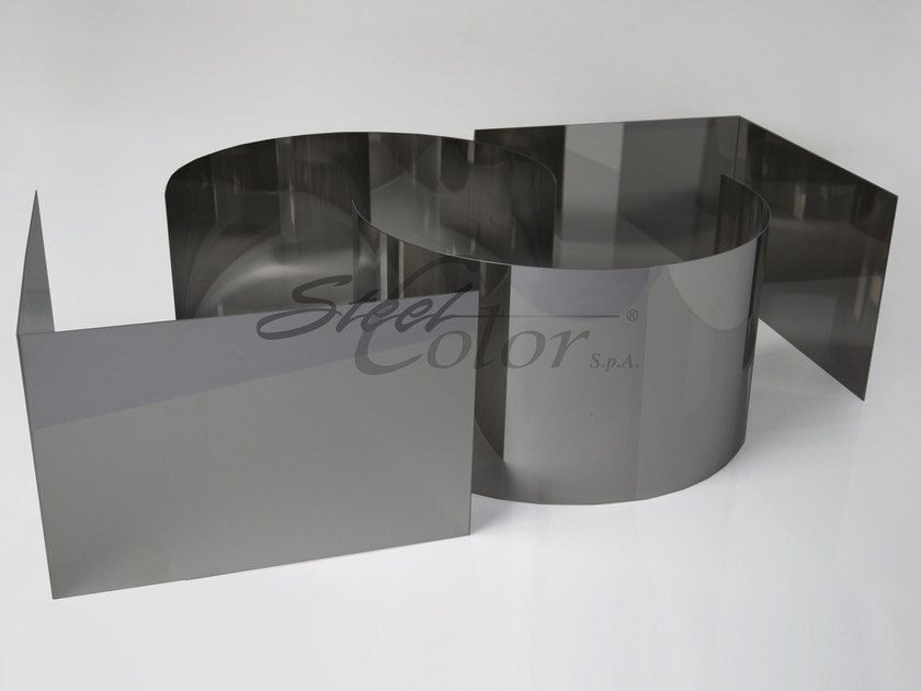 Sheet metal Polished steel sheet - STEEL COLOR