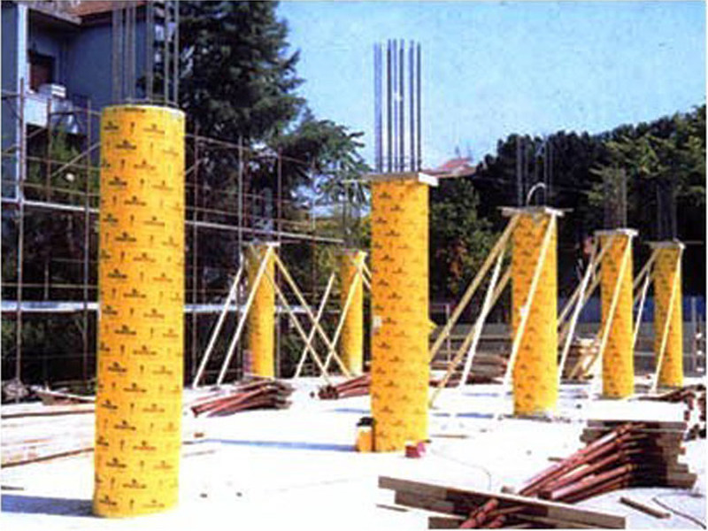 Cassero in cartone per pilastri prezzi