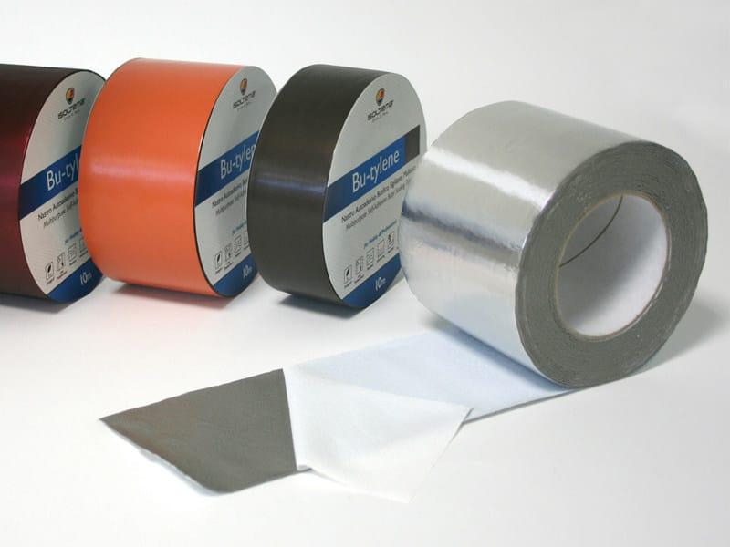 High-Adhesive Butyl Sealing Tape BU-TYLENE ALU BRICO - ISOLTEMA GROUP