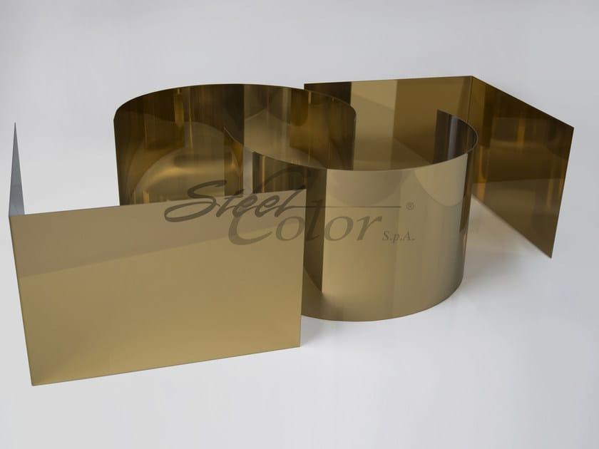 Metal sheet TSteel - STEEL COLOR