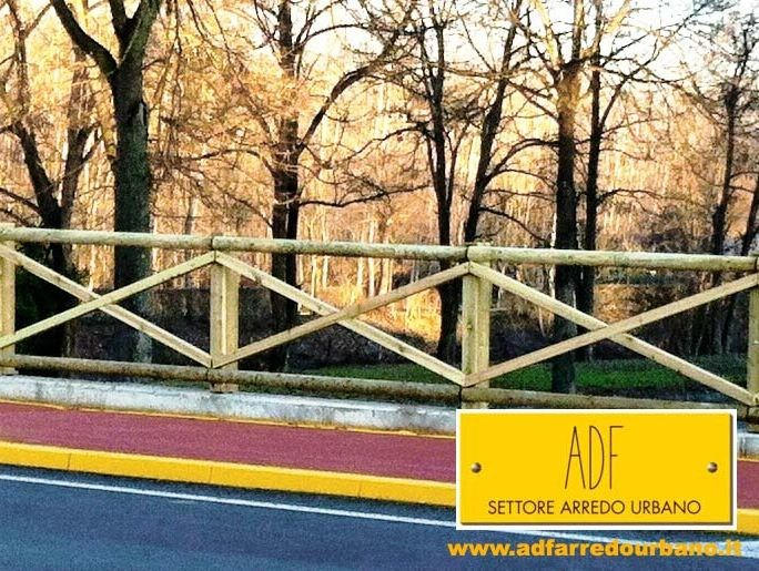 Transenna in pino teodoro by adf for Adf arredo urbano