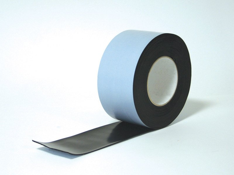 Self-adhesive bitumen tape for waterproofing ELOTENE 100 HDPE BITUMEN COMPOUND by ISOLTEMA GROUP