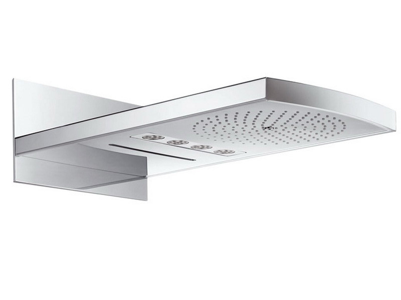 Wall-mounted 3-spray overhead shower RAINFALL® by hansgrohe