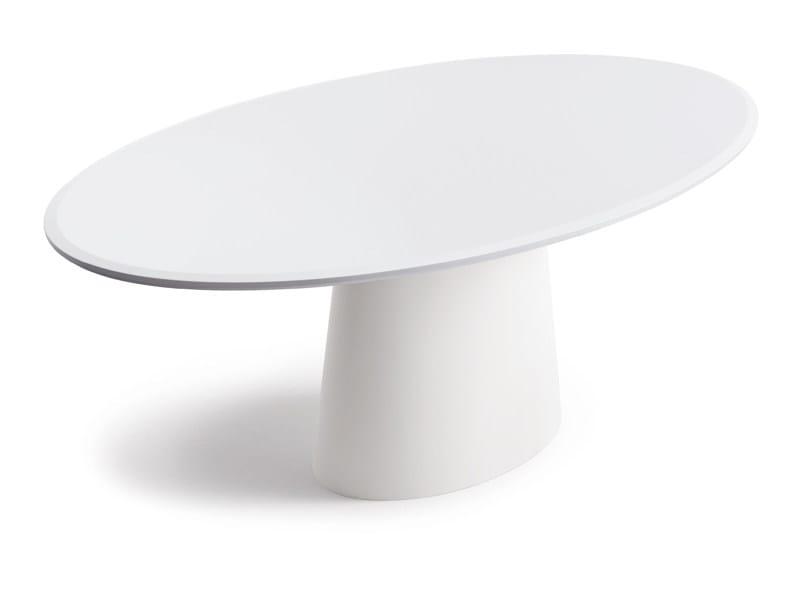 Oval dining table CONIC | Table - COR Sitzmöbel Helmut Lübke
