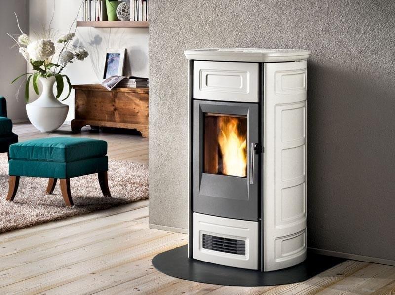 Pellet faïence stove P958 C | Pellet stove by Piazzetta