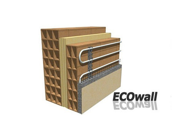 Radiant wall system ECOWALL - Rossato Group