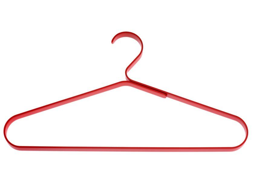 Painted metal clothes hanger COAT HANGER 0118 - Schönbuch