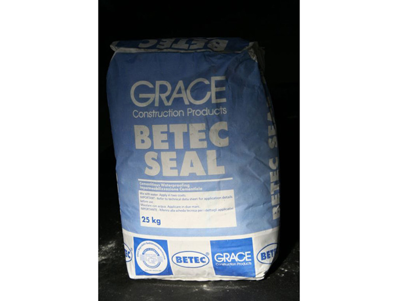 Cement-based waterproofing product Betec® Seal - Grace Construction Products - W.R. Grace Italiana