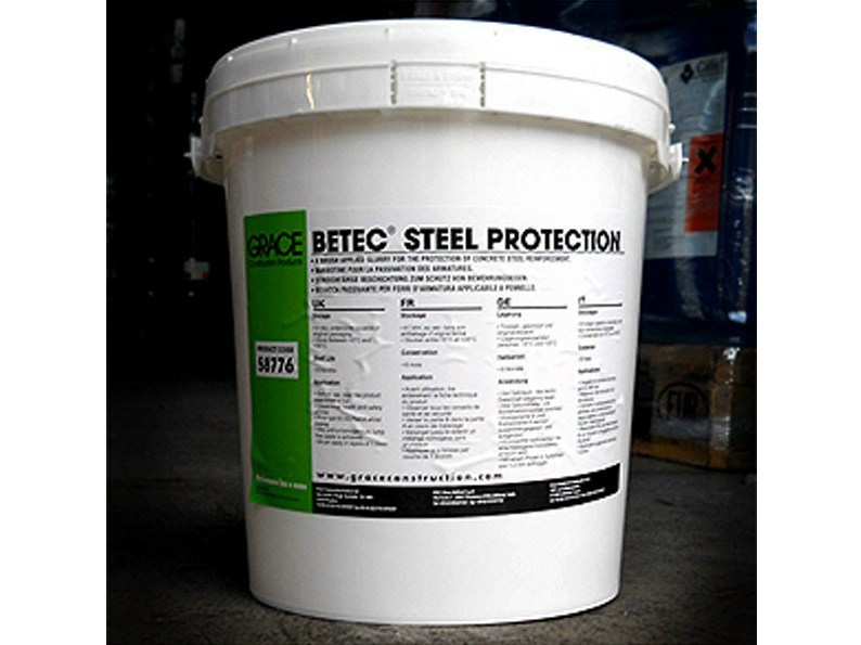 Special cement Betec® Steel Protection - Grace Construction Products - W.R. Grace Italiana