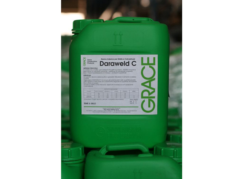 Additive and resin for waterproofing Daraweld® - Grace Construction Products - W.R. Grace Italiana