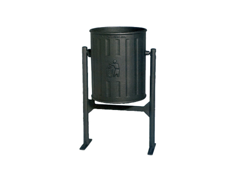 Outdoor cast iron waste bin TRAMONTANA - Lazzari