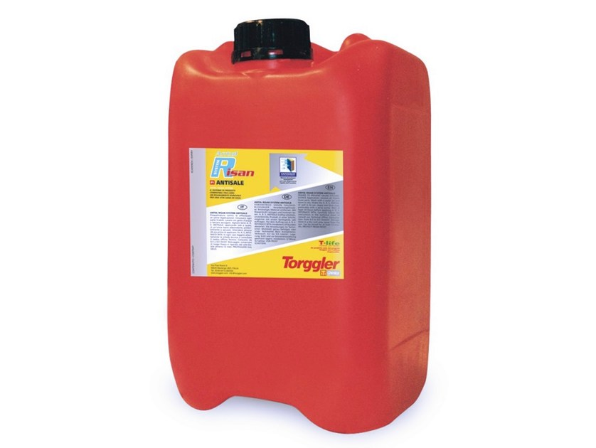 Chemical barrier anti-humidity system ANTOL RISAN SYSTEM ANTISALE by Torggler Chimica