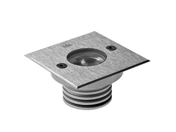 LED walkover light stainless steel steplight Bright 2.1 by L&L Luce&Light