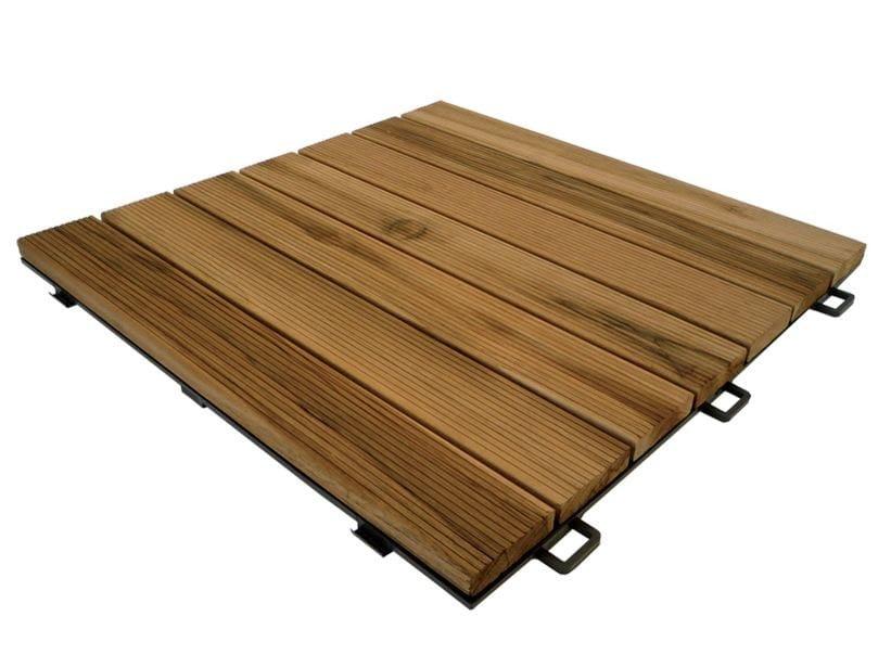 Piastra in legno per pavimentazione da giardino listoplate by pontarolo engineering - Pavimentazione giardino in legno ...