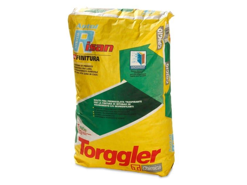 Dehumidifying plaster ANTOL RISAN SYSTEM FINITURA - Torggler Chimica