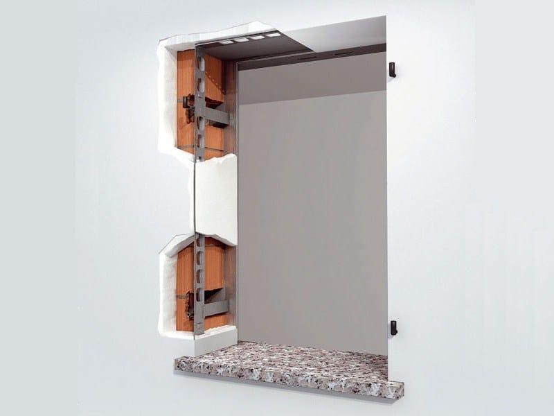 Sistema di ancoraggio per scuri amiko by de faveri - Scuri per finestre ...