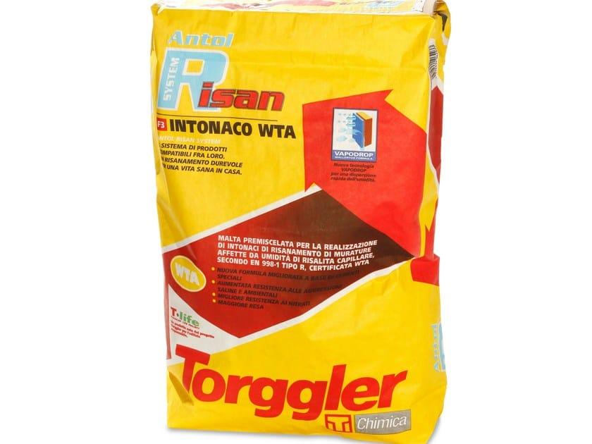 Dehumidifying plaster ANTOL RISAN SYSTEM WTA | Dehumidifying plaster by Torggler Chimica