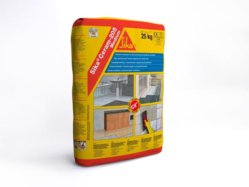 Cement-based glue SIKA® CERAM-205 MEDIUM - SIKA ITALIA