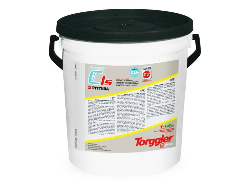 Surface protector for concrete ANTOL CLS SYSTEM PITTURA - Torggler Chimica