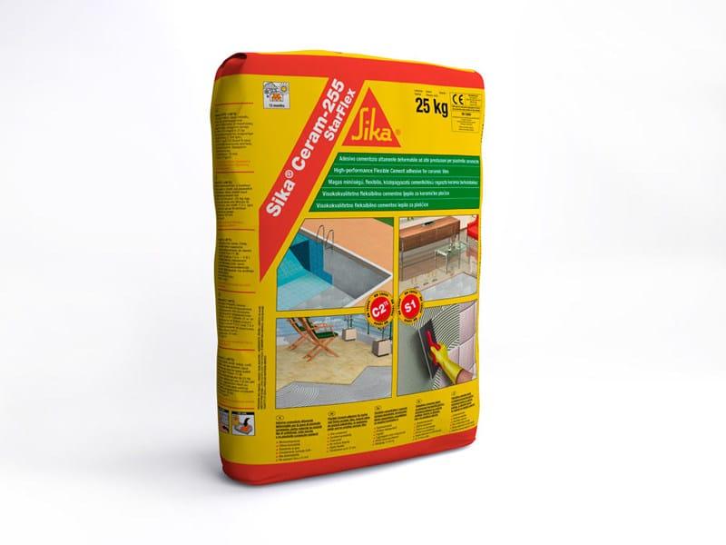 Cement-based glue SIKA® CERAM-255 STARFLEX - SIKA ITALIA