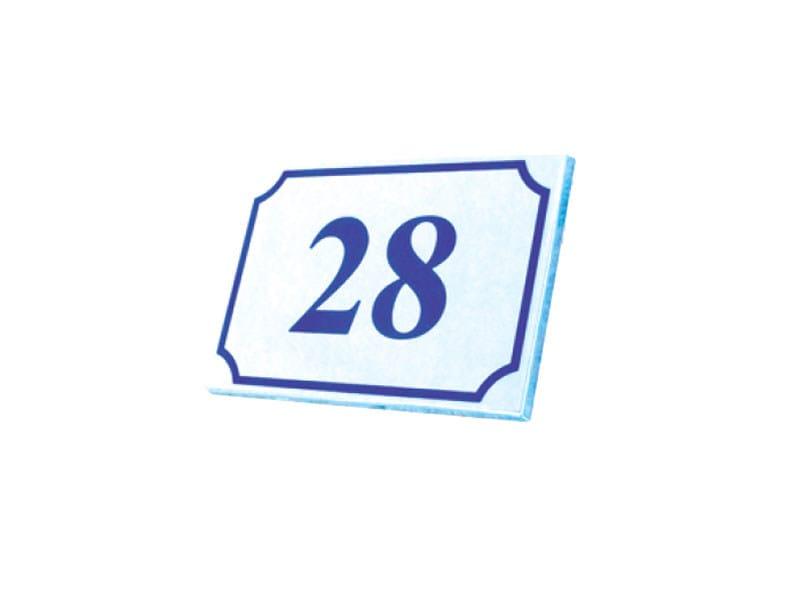 Aluminium house number House number - Lazzari