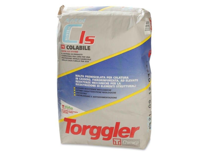 Fibre reinforced mortar ANTOL CLS SYSTEM COLABILE - Torggler Chimica