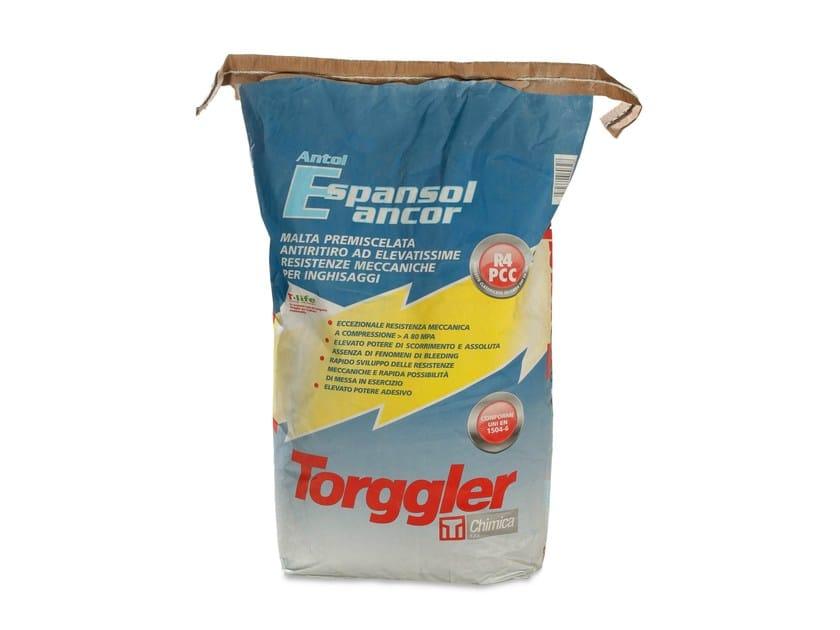 Rapid-setting mortar ANTOL ESPANSOL ANCOR - Torggler Chimica