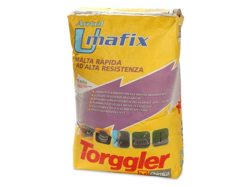 Rapid-setting mortar ANTOL UMAFIX - Torggler Chimica