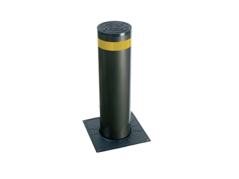 Electric bollard with base plate EASY by Lazzari